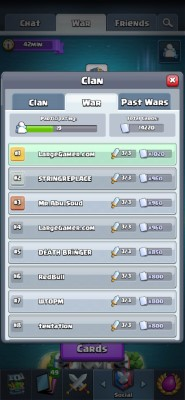 Clash Royale Clan Manager Screenshot #2