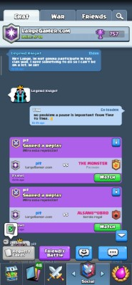 Clash Royale Clan Manager Screenshot #3