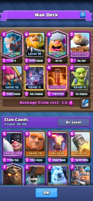 Clash Royale Clan Manager Screenshot #4