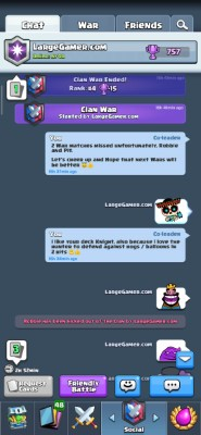 Clash Royale Clan Manager Screenshot #7