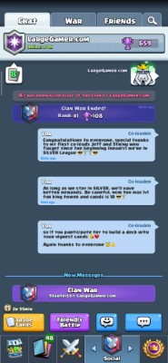 Clash Royale Clan Manager Screenshot #8