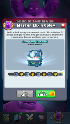 Clash Royale Season 4 Shocktober Screenshot #3