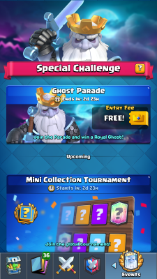 Clash Royale Season 4 Shocktober Screenshot #6