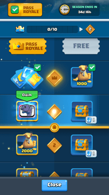 Clash Royale - Season Pass Screenshot #2