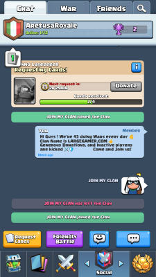 Clash Royale Recruitment Screenshot #11