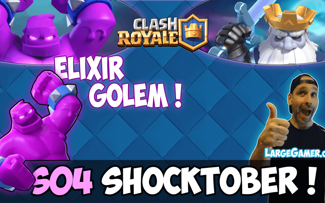 Clash Royale Season 4 Shocktober Ready for Halloween ?