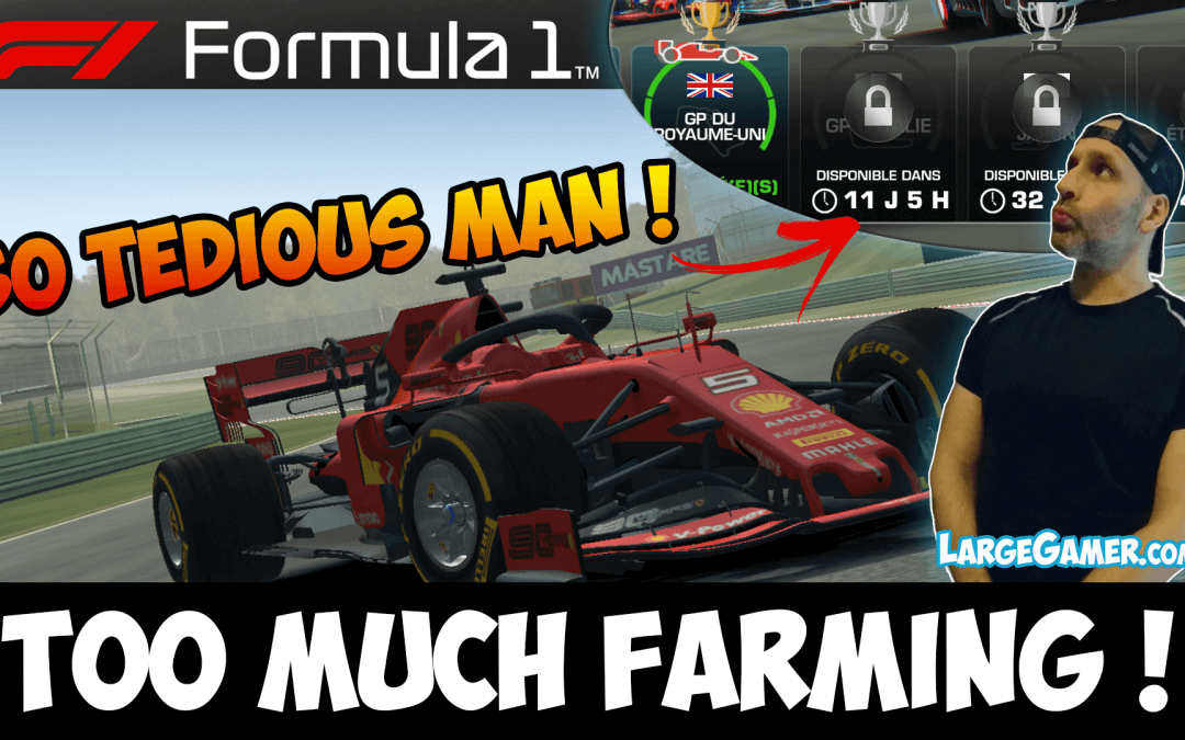 Real Racing 3 Formula 1 Too Much Farming So Tedious !